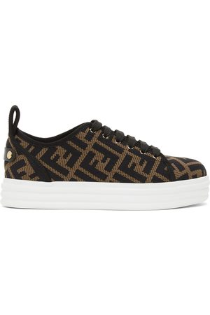 Fendi And Forever Flatform Sneakers
