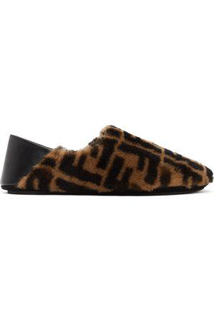 Fendi Shearling Forever Loafers