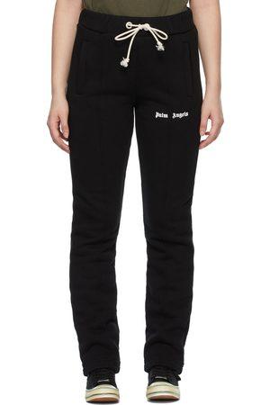 Palm Angels Women Skinny Pants - Slim Logo Lounge Pants