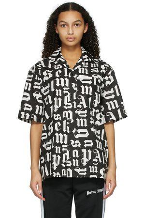 Palm Angels Women Short sleeves - And Bowling Short Sleeve Shirt
