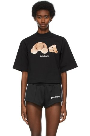 Palm Angels Bear Cropped T-Shirt