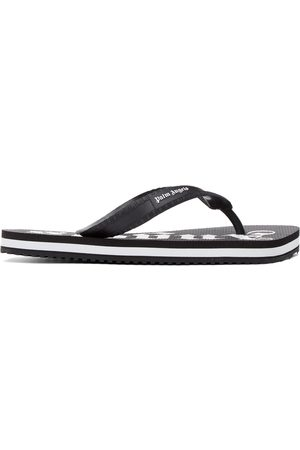 Palm Angels And New Logo Flip Flops