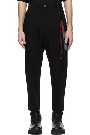 SONG FOR THE MUTE Men Pants - Cotton Gabardine Trousers