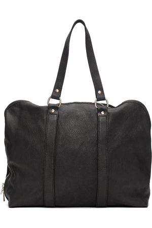 Guidi Men Luggage - Black Small Weekender Duffle Bag