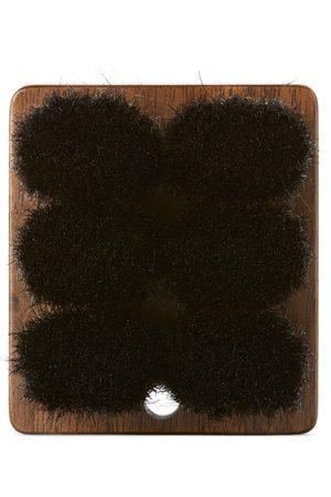 Shaquda Walnut & Boar Bristle Short Body Brush