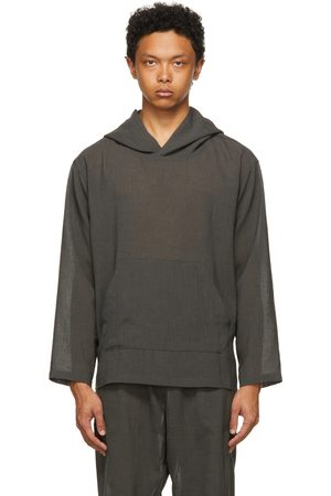 The Conspires Grey Boyled Hoodie
