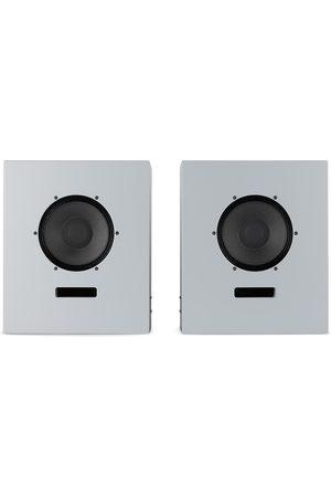 Ojas SSENSE Exclusive Grey Utility Wood Bookshelf Speakers
