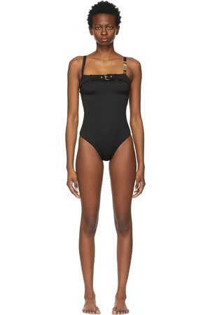 Moschino Buckle One-Piece Swimsuit
