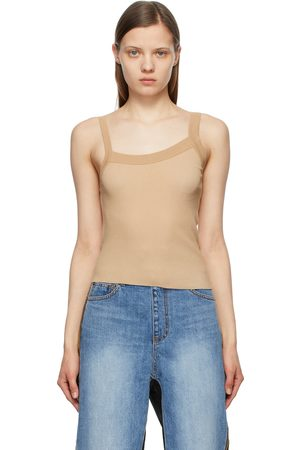 TheOpen Product Knit Asymmetric Tank Top