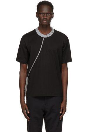CRAIG GREEN Men T-shirts - And Grey Laced T-Shirt