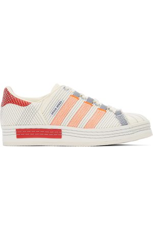 CRAIG GREEN Men Sneakers - Off- and Grey adidas Edition Superstar Sneakers