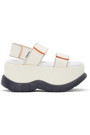 SUNNEI Women Sandals - Off- Canvas Low Platform Sandals