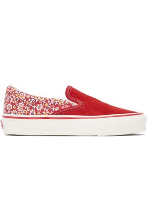 Vans Women Flat Shoes - Micro Daisy OG Classic Slip-On LX Sneakers