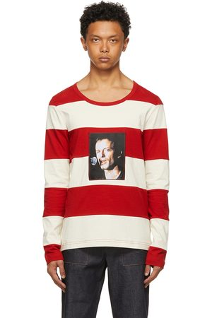 SUNNEI Off- and Striped Long Sleeve T-Shirt