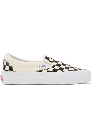 Vans And Off- Checkerboard OG Classic Slip-On LX Sneakers