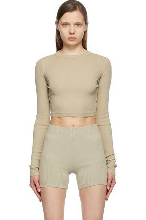 Cotton Citizen Crop Verona Long Sleeve T-Shirt