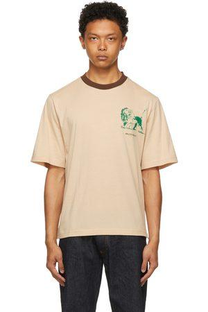 WALES BONNER Men T-shirts - Johnson Badge Crest T-Shirt