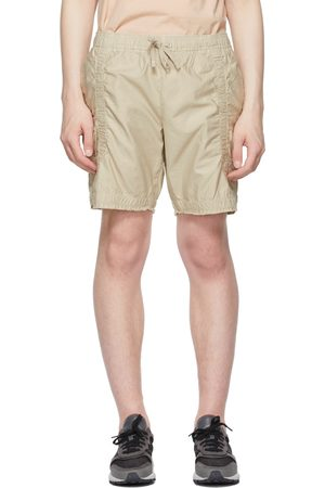 JOHN ELLIOTT Men Shorts - Cotton Poplin Frame Shorts