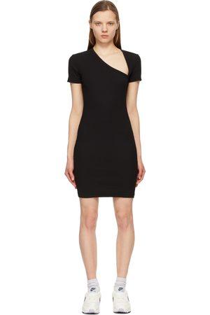 JOHN ELLIOTT Women Asymmetrical Dresses - Cotton Rib Asymmetrical Dress