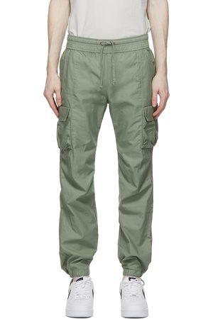 JOHN ELLIOTT Khaki Sateen Cargo Pants