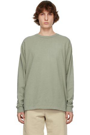 JOHN ELLIOTT Khaki University Long Sleeve T-Shirt