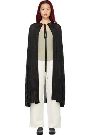 Totême Women Ponchos & Capes - Knitted Drape Cape