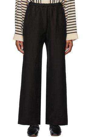 Totême Stretch Linen Lounge Pants