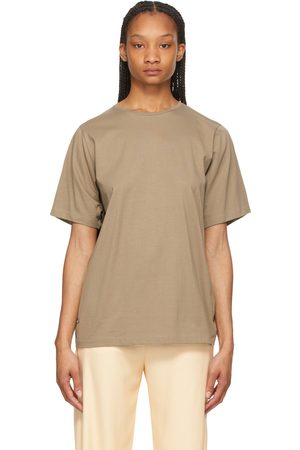 Totême Grey Oversized Cotton T-Shirt