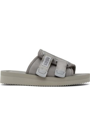 SUICOKE Grey Kaw-VS Sandals