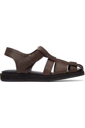 Recto Cross Strap Sandals