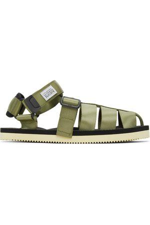 SUICOKE Khaki Shaco Sandals