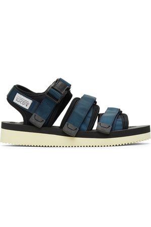 SUICOKE Navy and GGA-V Sandals