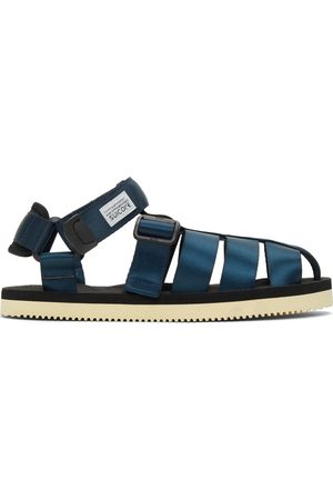 SUICOKE Navy and SHACO Sandals