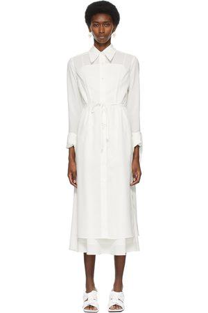 Recto Off- Split Cuff Shirt Dress