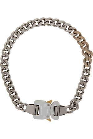 1017 ALYX 9SM SSENSE Exclusive and Buckle Colored Links Necklace
