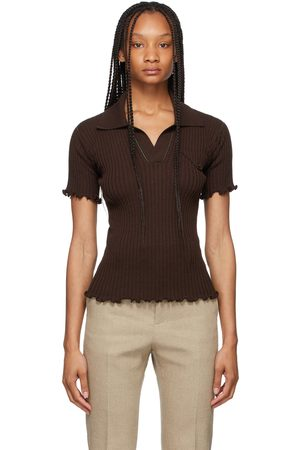 Bottega Veneta Lightweight Rib Knit Polo