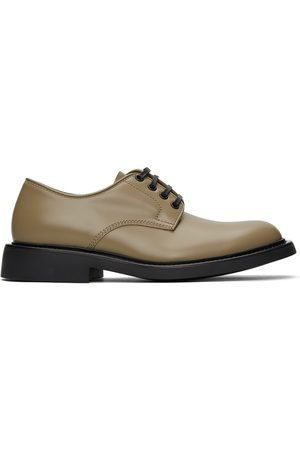 Bottega Veneta Khaki The Level Derbys