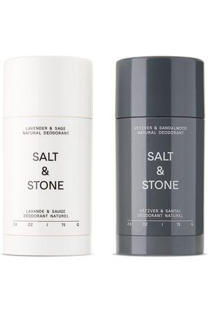 Salt And Stone Natural Lavender and Sandalwood Deodorant Set
