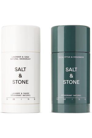 Salt And Stone Natural Lavender and Cedarwood Deodorant Set