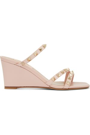 VALENTINO GARAVANI Rockstud Wedge Heeled Sandals