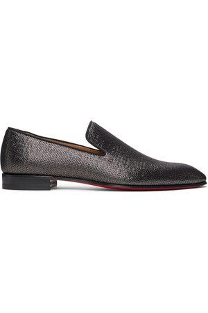 Christian Louboutin Metallic Dandelion Loafers