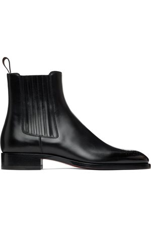 Christian Louboutin Leather Angloman Chelsea Boots
