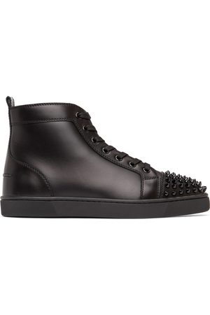 Christian Louboutin Lou Spikes High-Top Sneakers