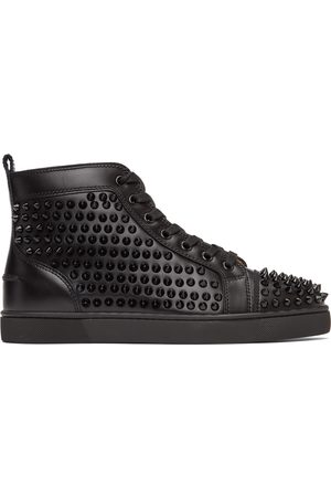 Christian Louboutin Louis Spikes High-Top Sneakers