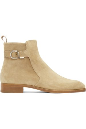 Christian Louboutin Taupe Valido Boots