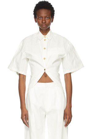 AMBUSH Linen and Cotton Short Sleeve Shirt