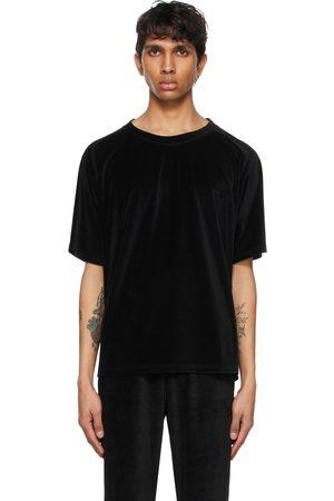 Pins & Needles Velour Neck T-Shirt