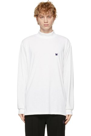 Pins & Needles Mock Neck Logo Long Sleeve T-Shirt