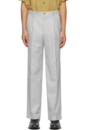 HAN Kjøbenhavn Grey Boxy Suit Trousers