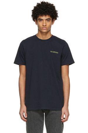 HAN Kjøbenhavn Men T-shirts - Navy Casual T-Shirt